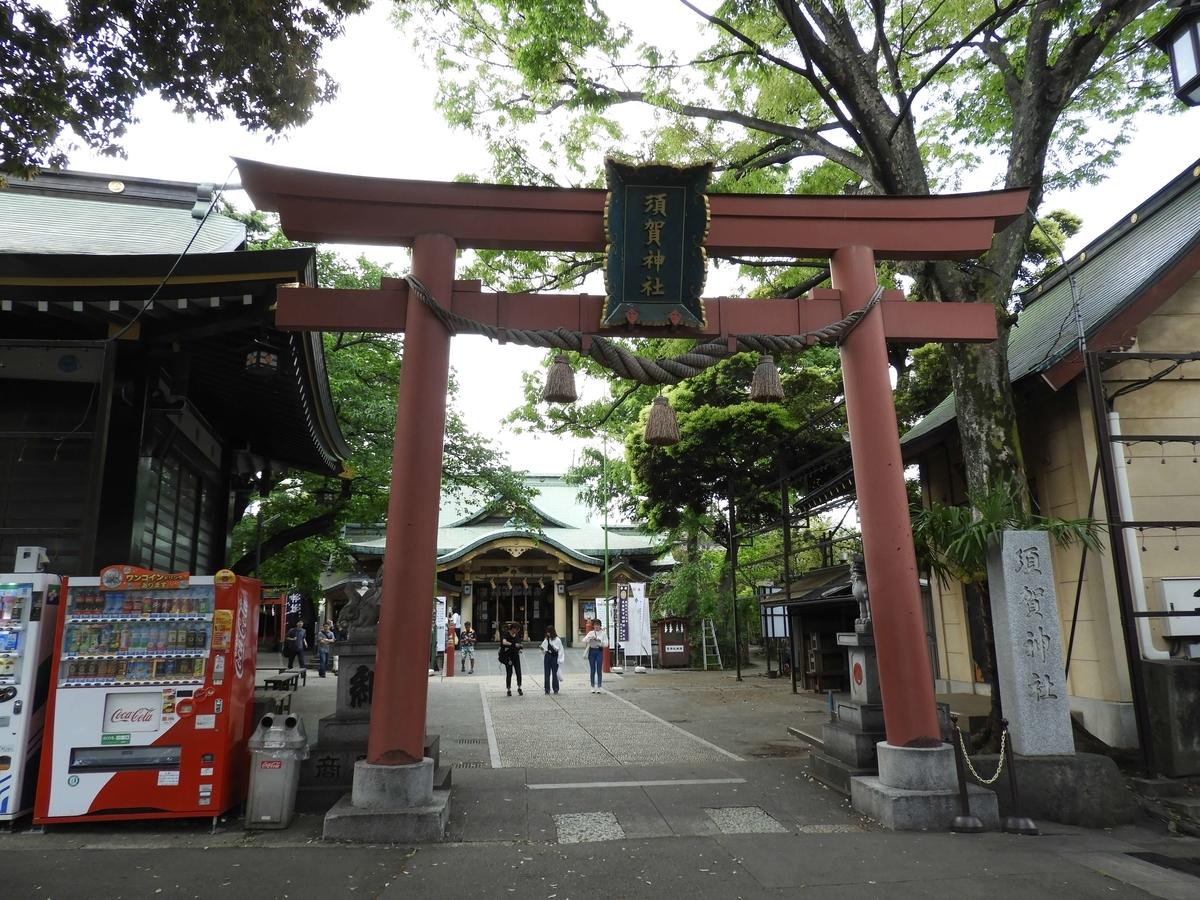 須賀神社の大鳥居