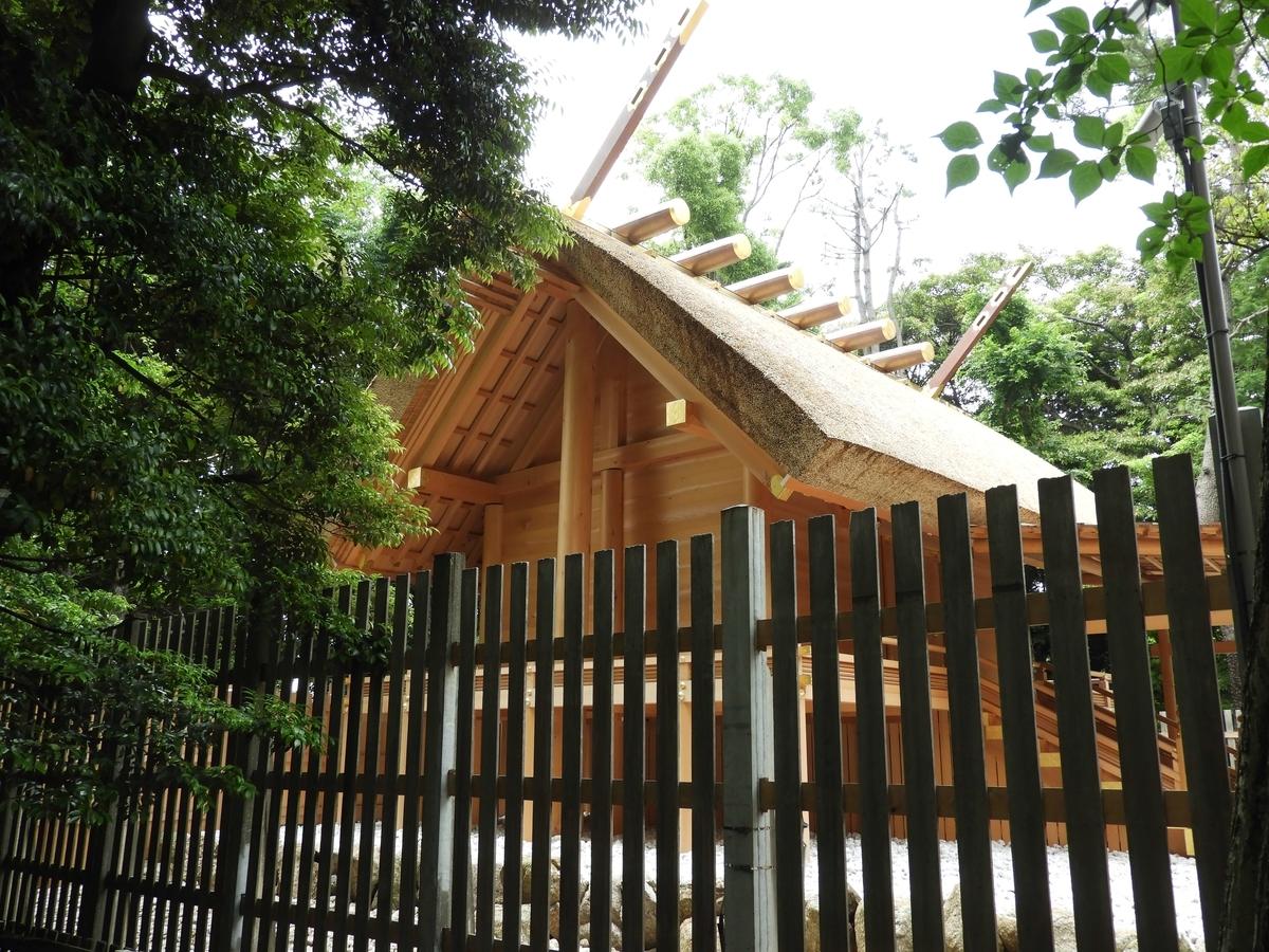 伊勢神宮の社殿を移築した本殿