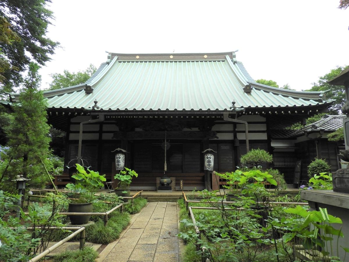 妙楽寺の本堂