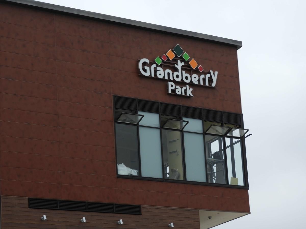グランベリーパークの看板