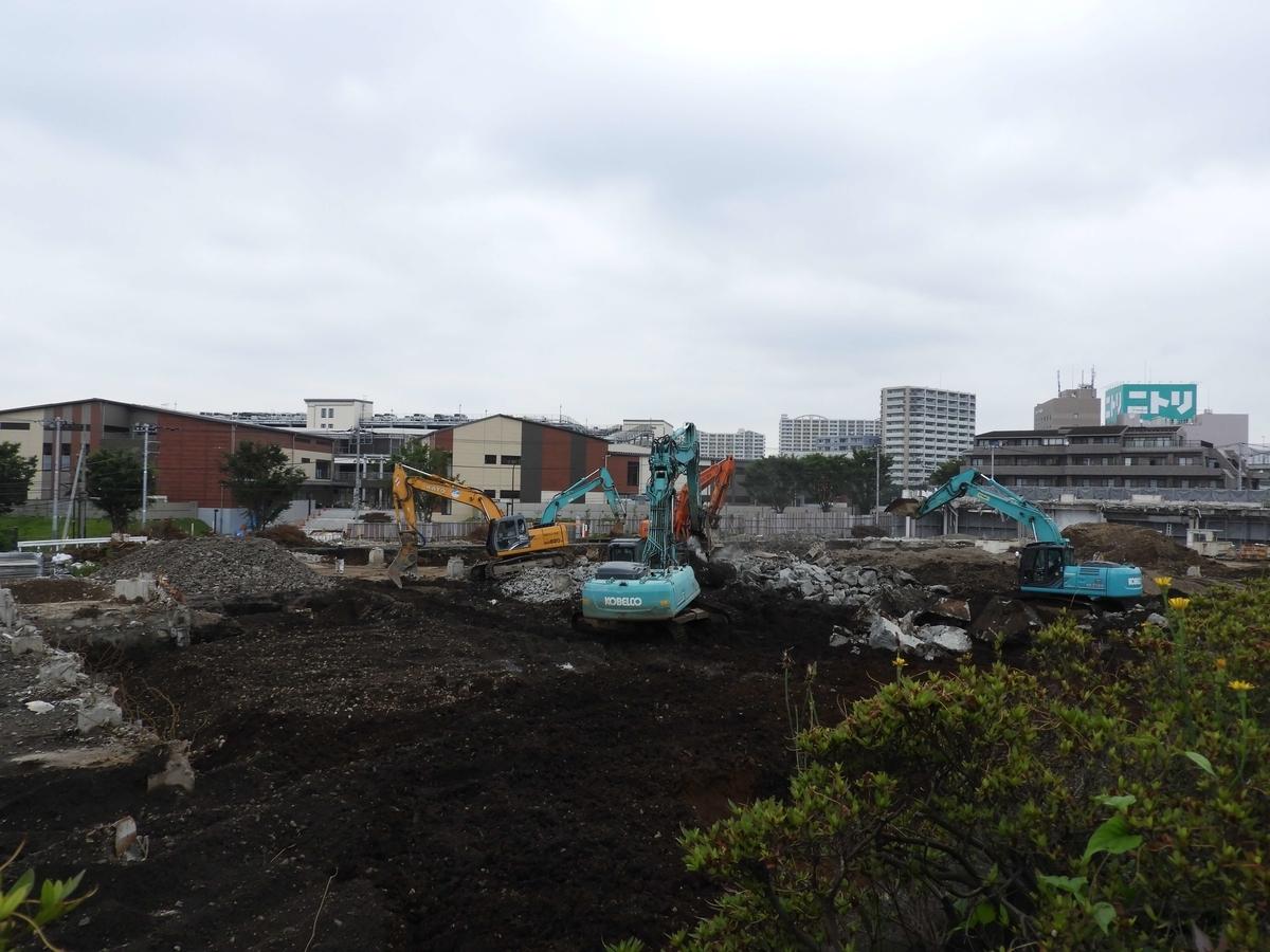 旧ケーズデンキ解体工事