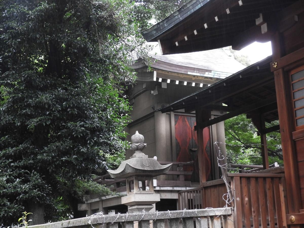 鎧神社の本殿