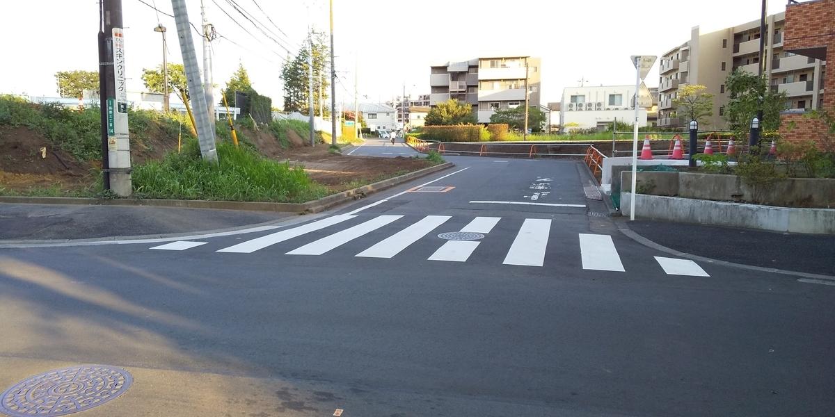 隣接した道路
