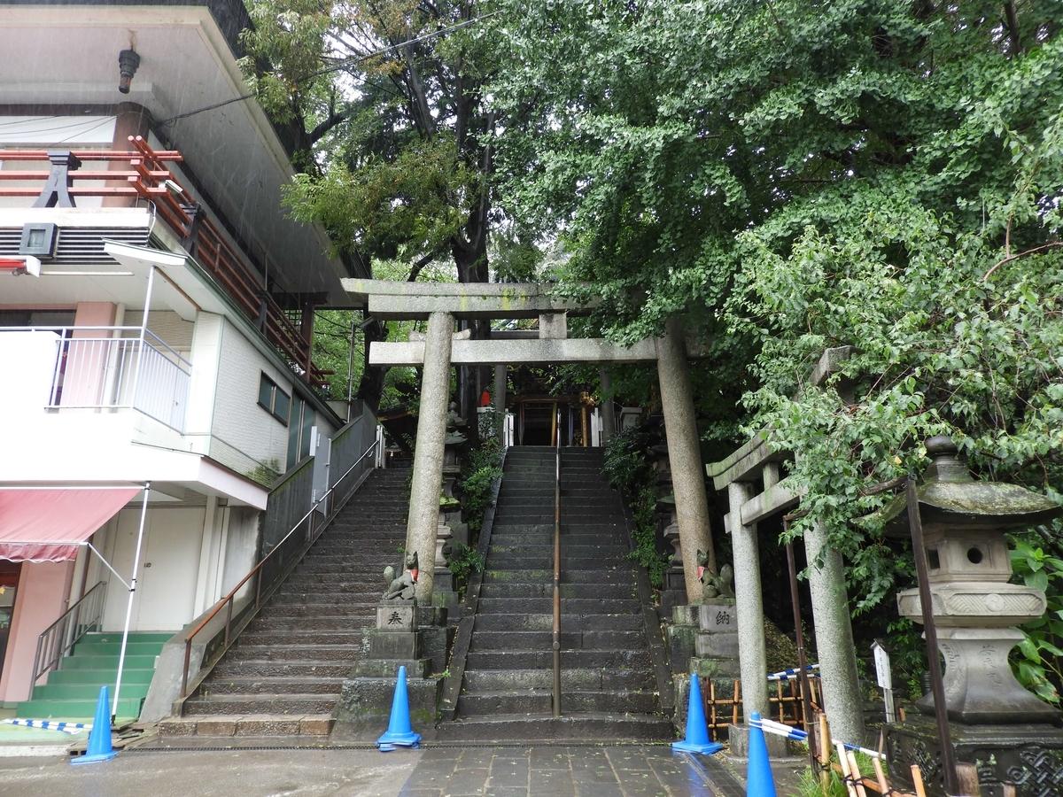 王子稲荷神社の大鳥居
