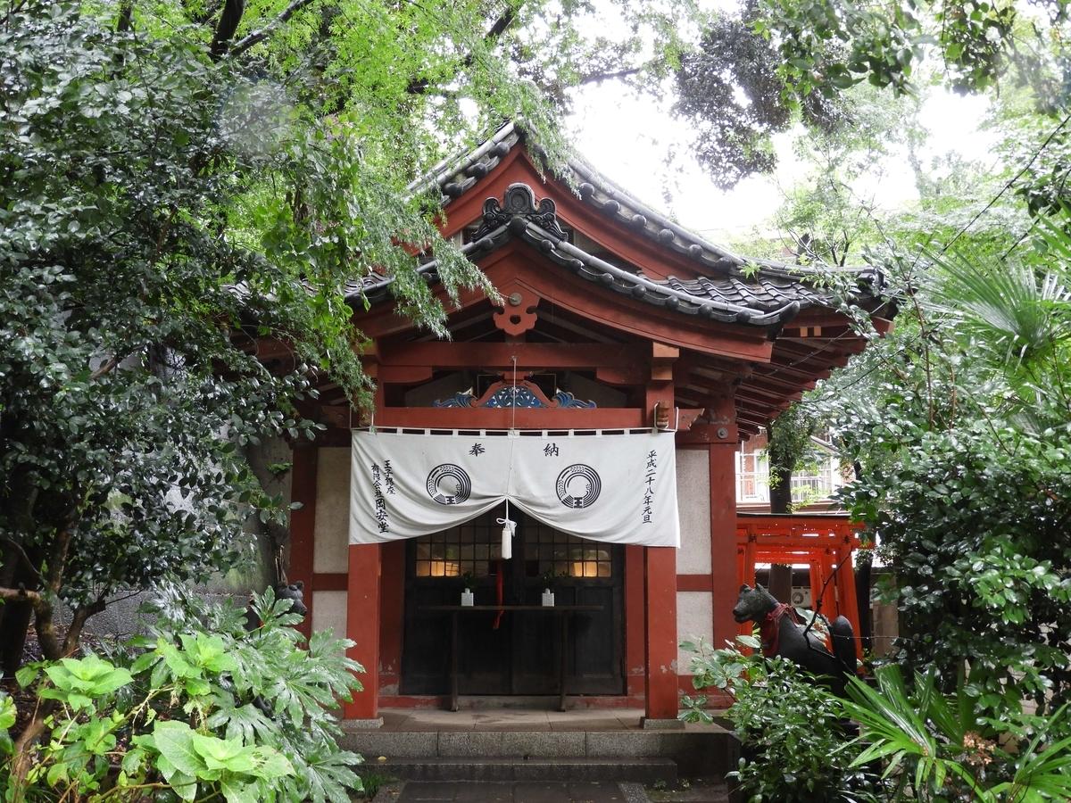 王子稲荷神社の本宮