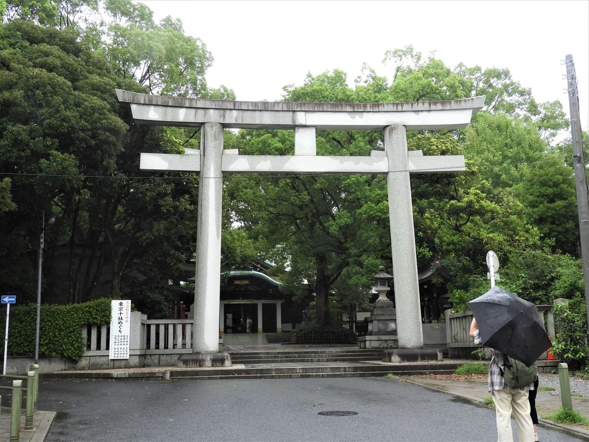王子神社の大鳥居