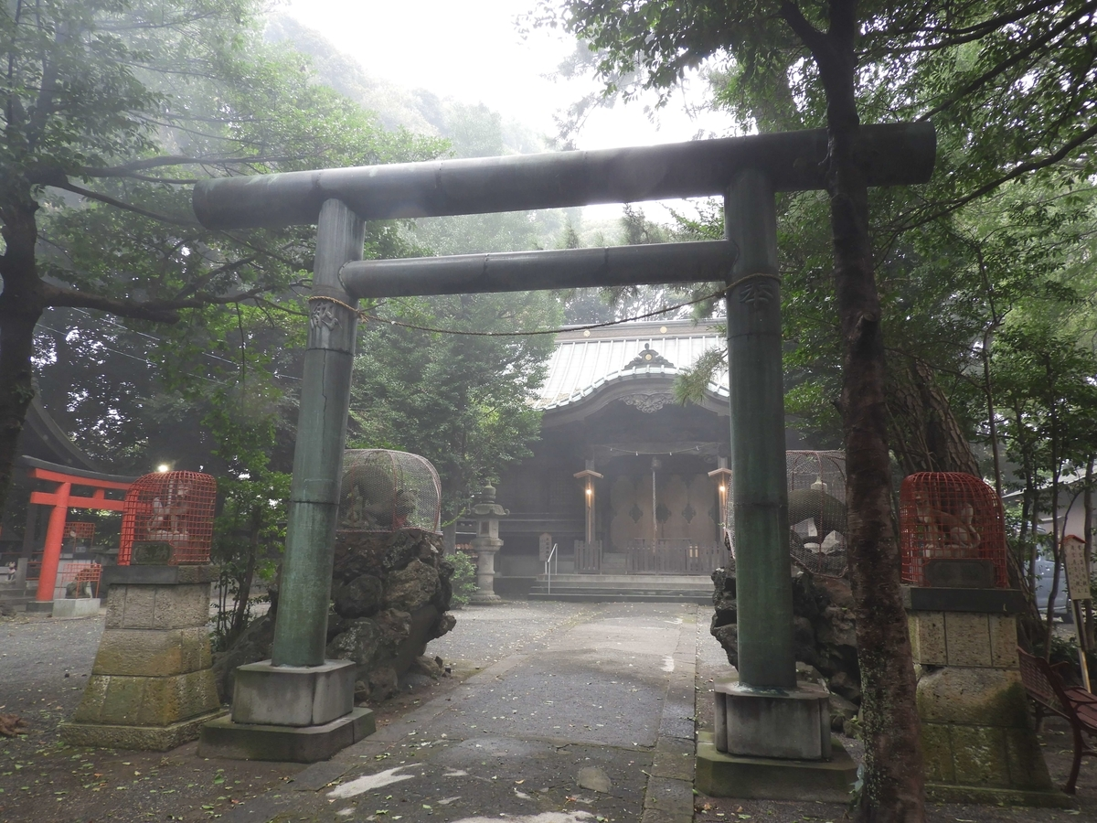 大稲荷神社の二之鳥居