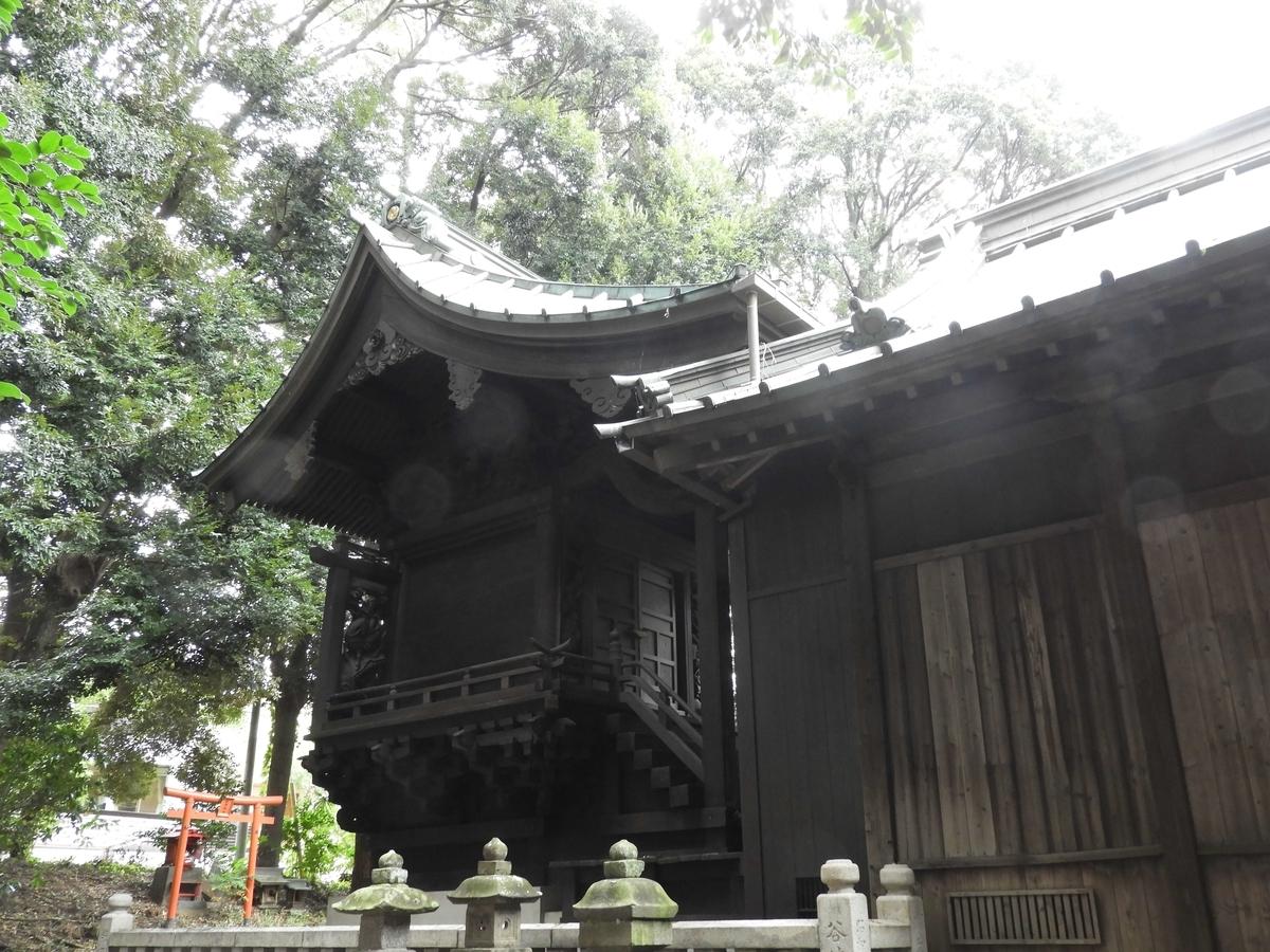 大稲荷神社の本殿