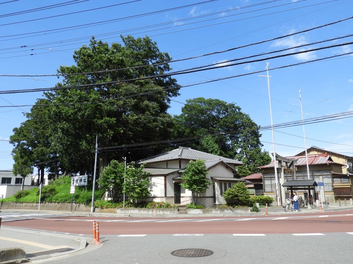 日枝神社の全景