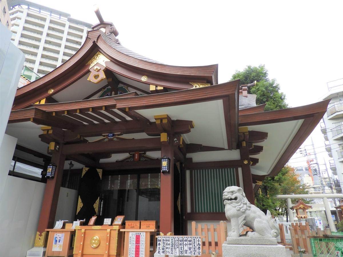 かつての壮麗な建築と変わらぬ姿の社殿