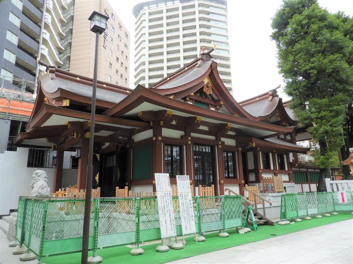 八幡造の社殿
