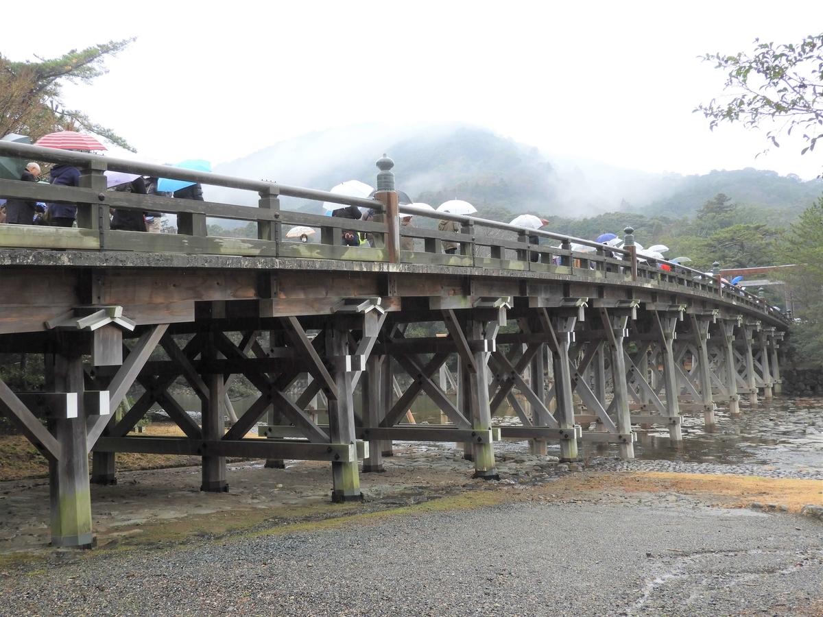 宇治橋の全体像