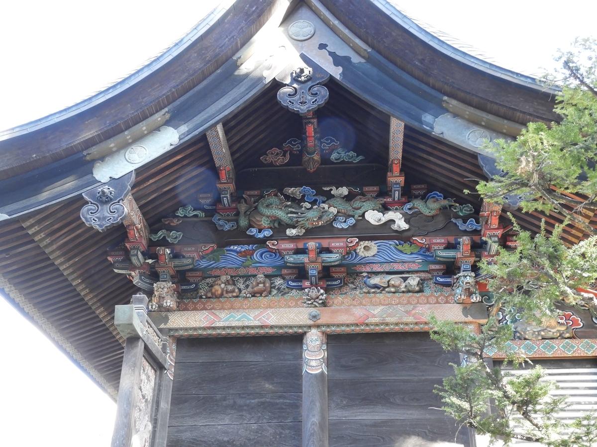 本殿の西側