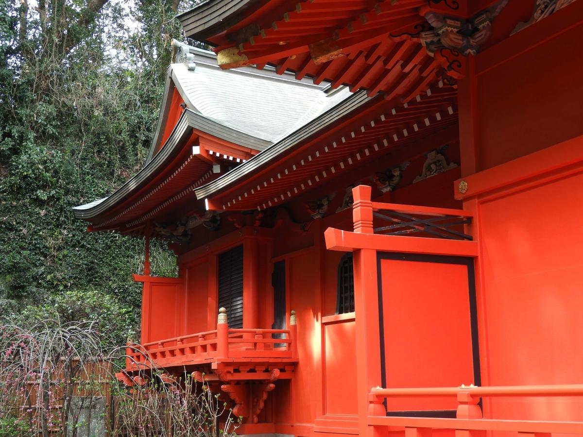 中津宮の本殿