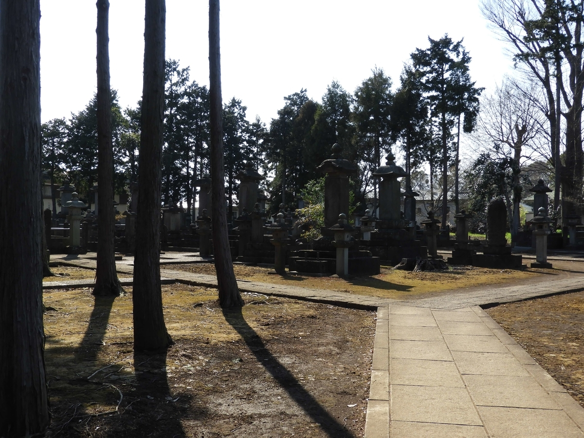 井伊家関係者の墓所
