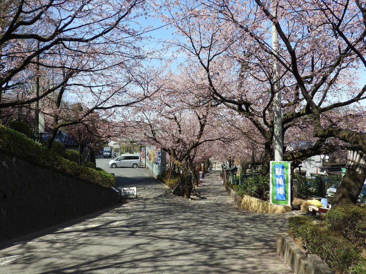 密蔵院の参道