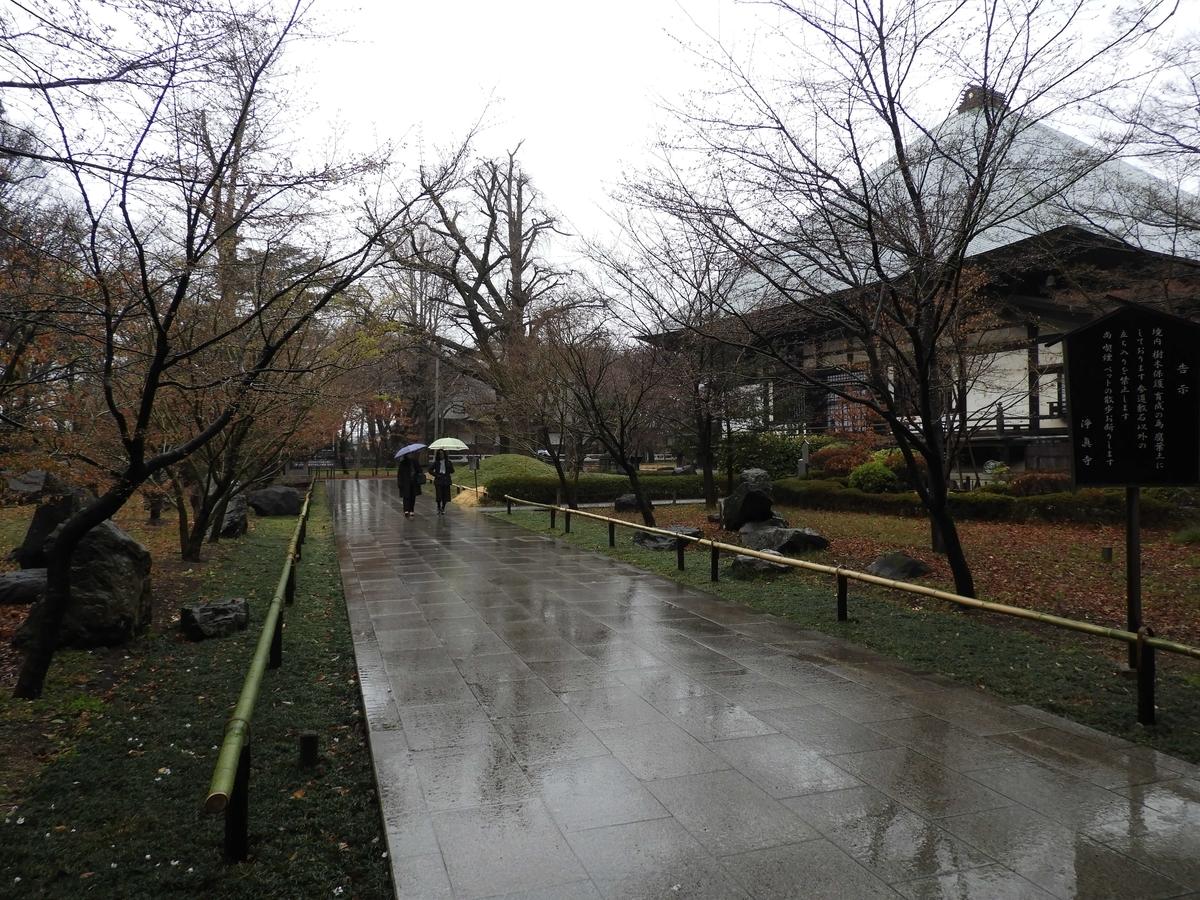 東慶寺を思い起こさせる光景