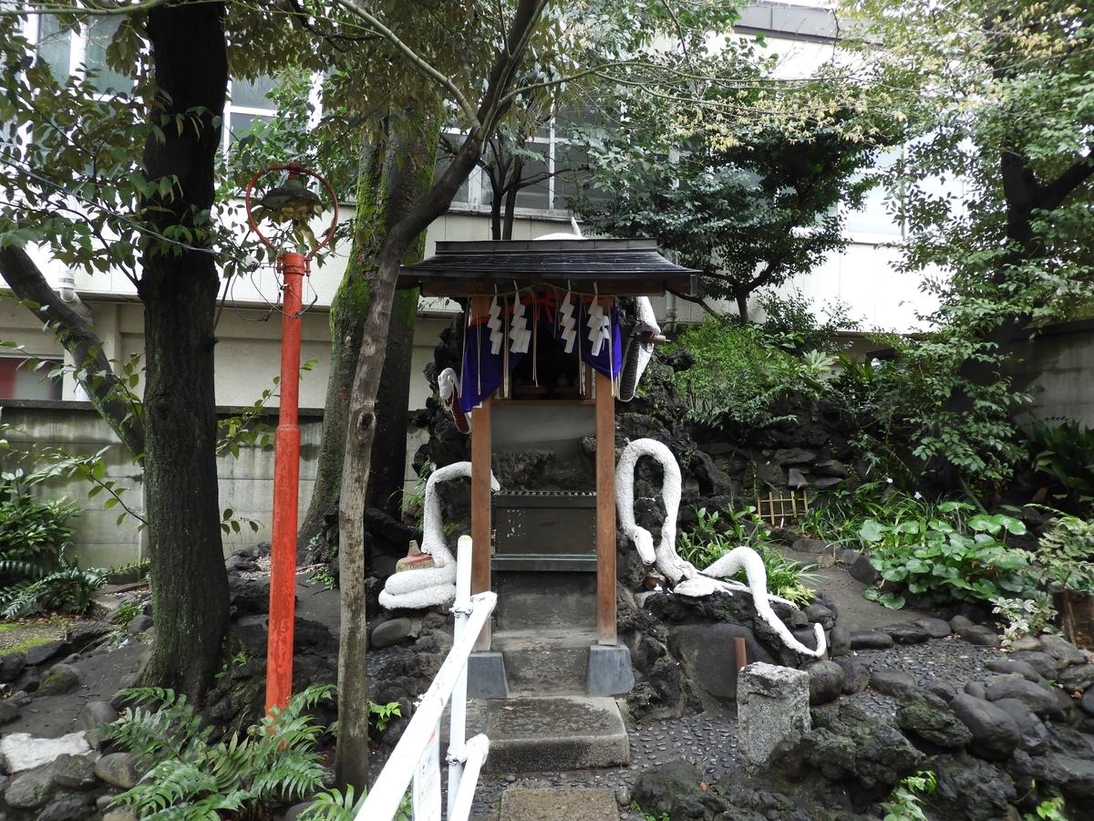 厳島弁天社の社殿
