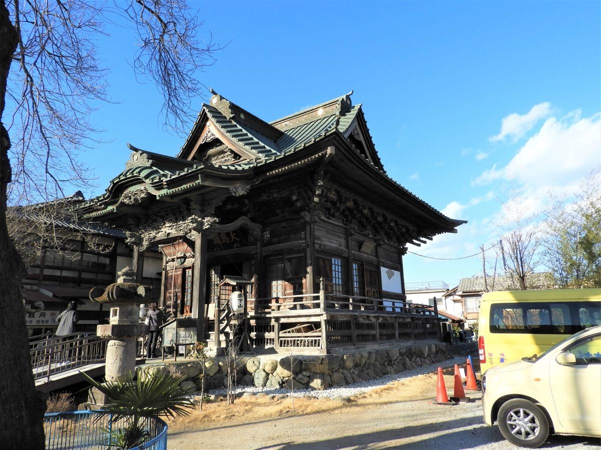 四萬部寺の本堂を模して再建したℤ本堂