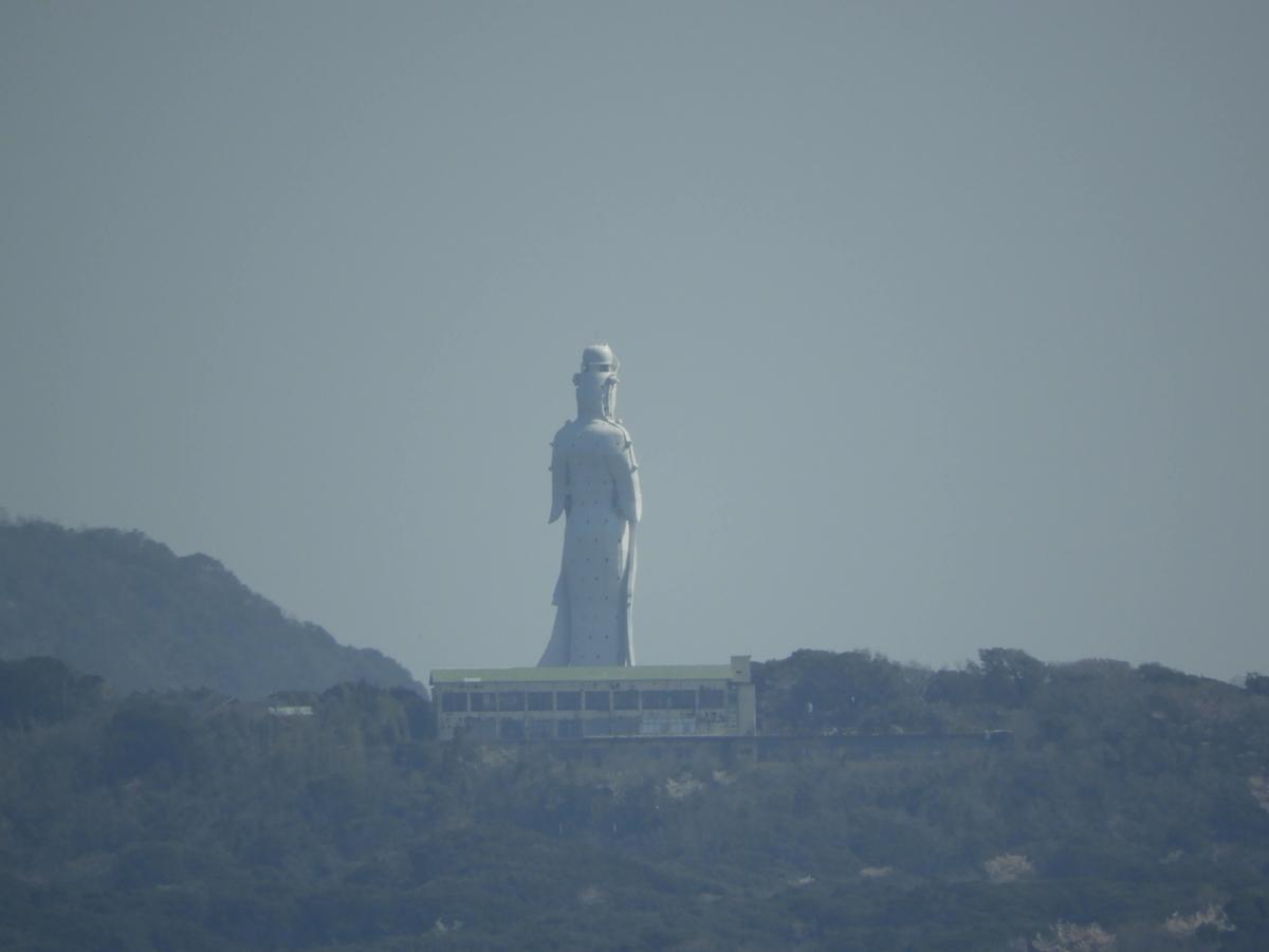 富津岬からの眺め