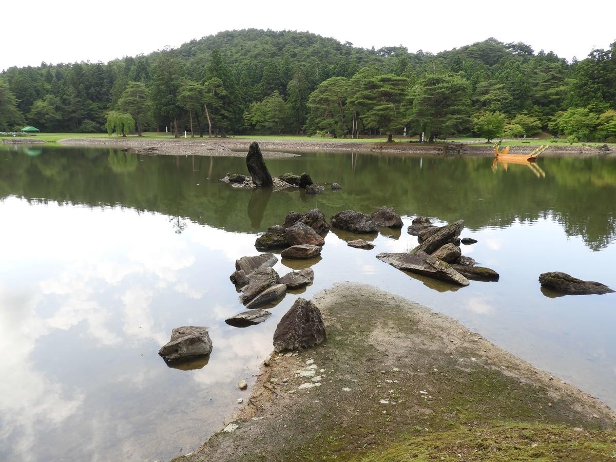 浄土庭園と平安時代の伽藍遺構