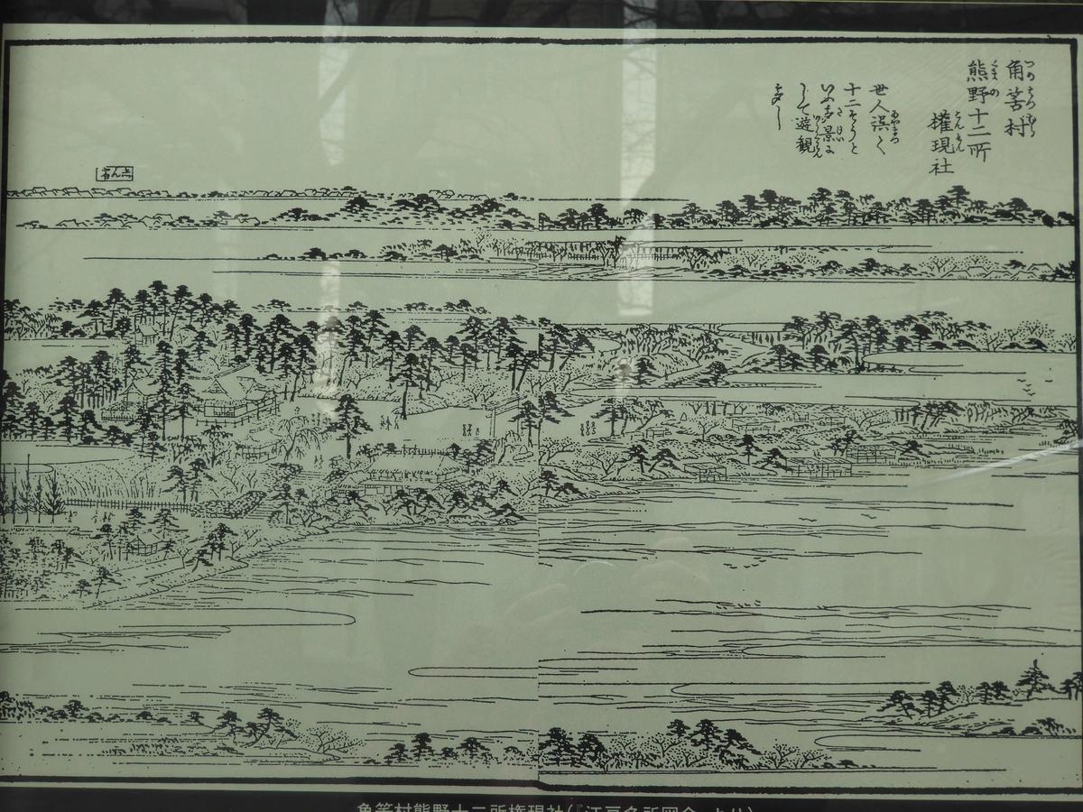 池や滝の絵