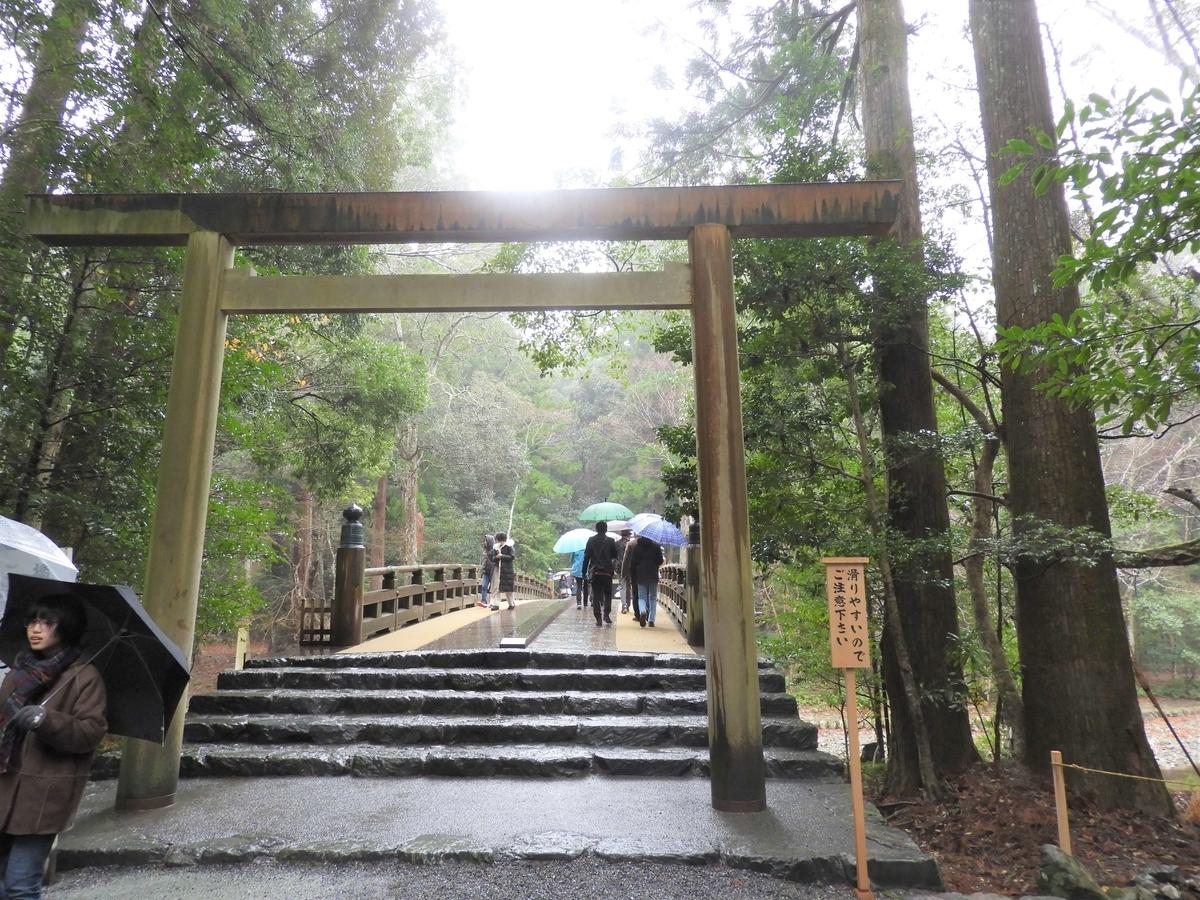 風日祈宮への橋