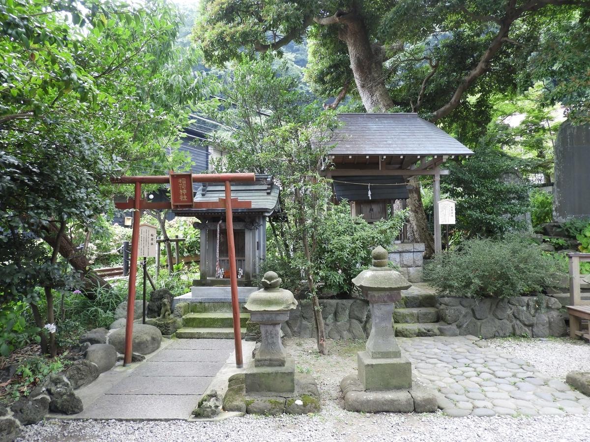 稲荷神社と秋葉神社