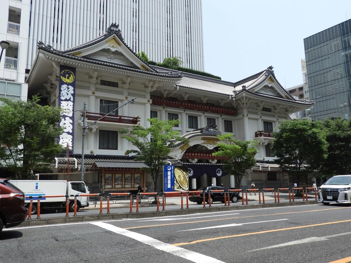 歌舞伎座の低層部分
