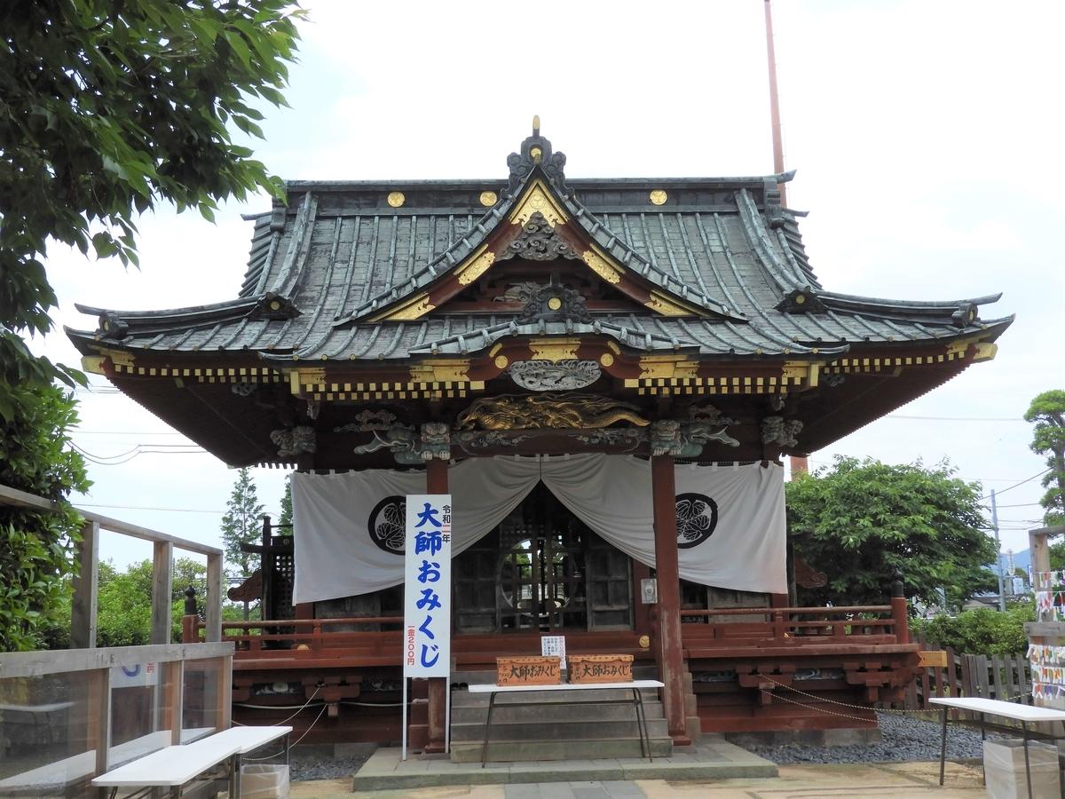佐野東照宮の拝殿