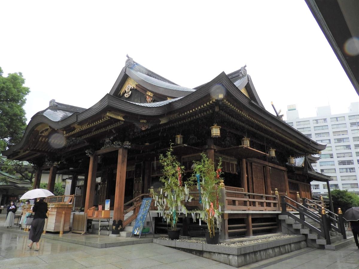総檜造りの新社殿