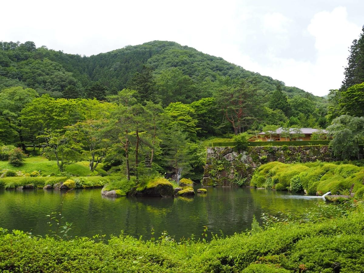 古峯園の大変美しい風景