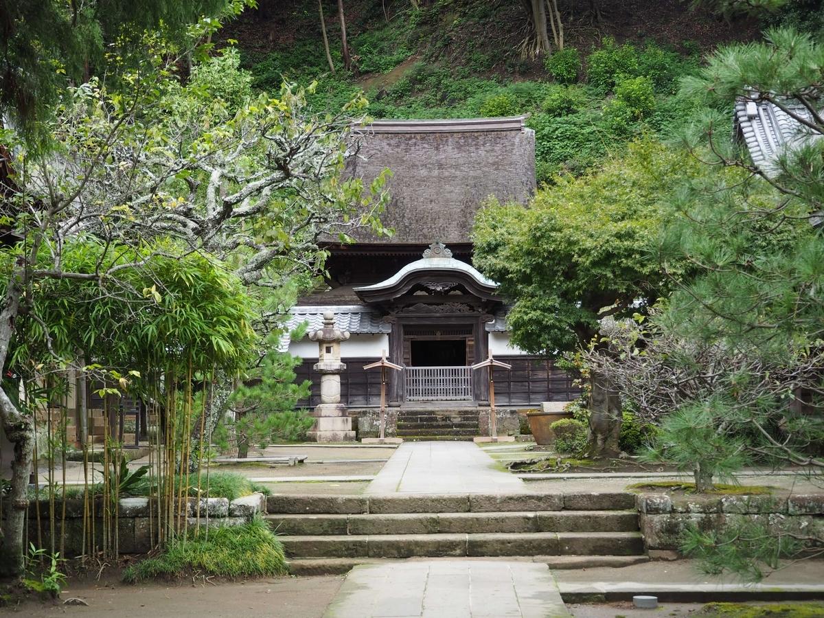 神奈川県で唯一の国宝建築物である円覚寺舎利殿
