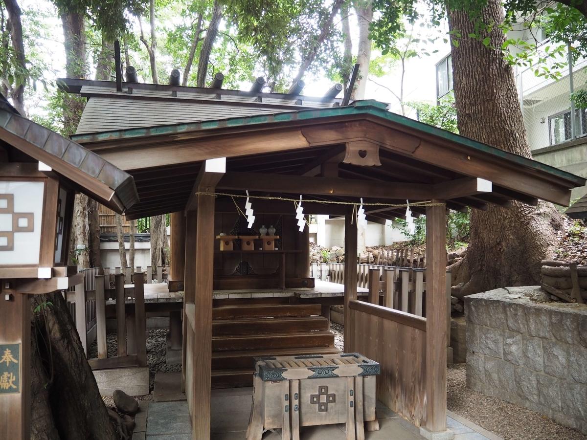正松神社の社殿