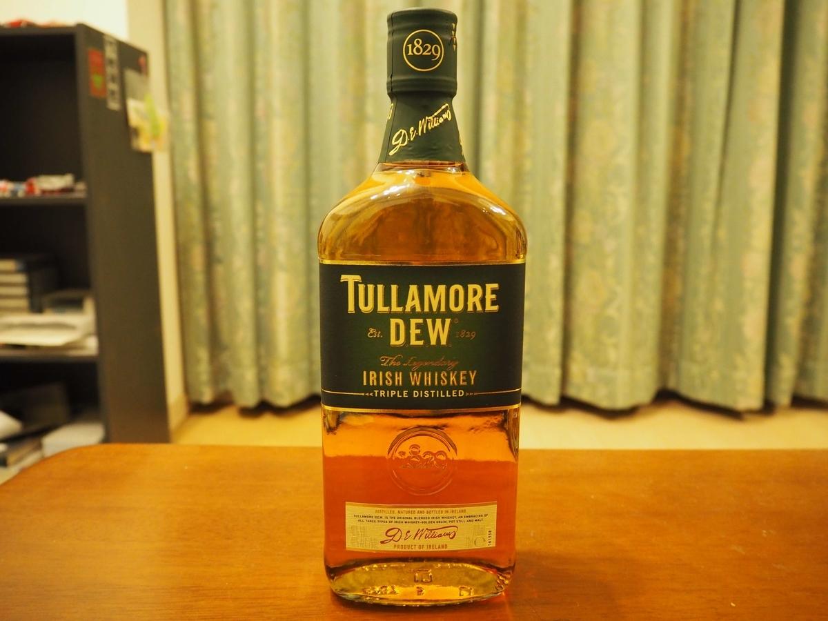タラモアデューのボトル