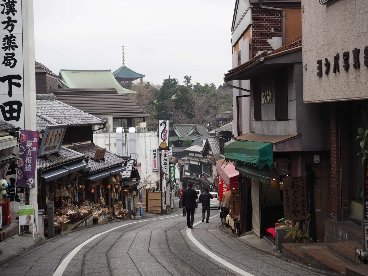 成田山新勝寺の表参道
