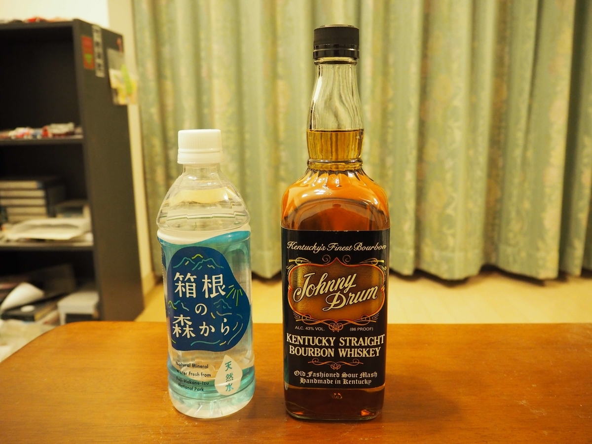 ジョニードラムと箱根の森の天然水