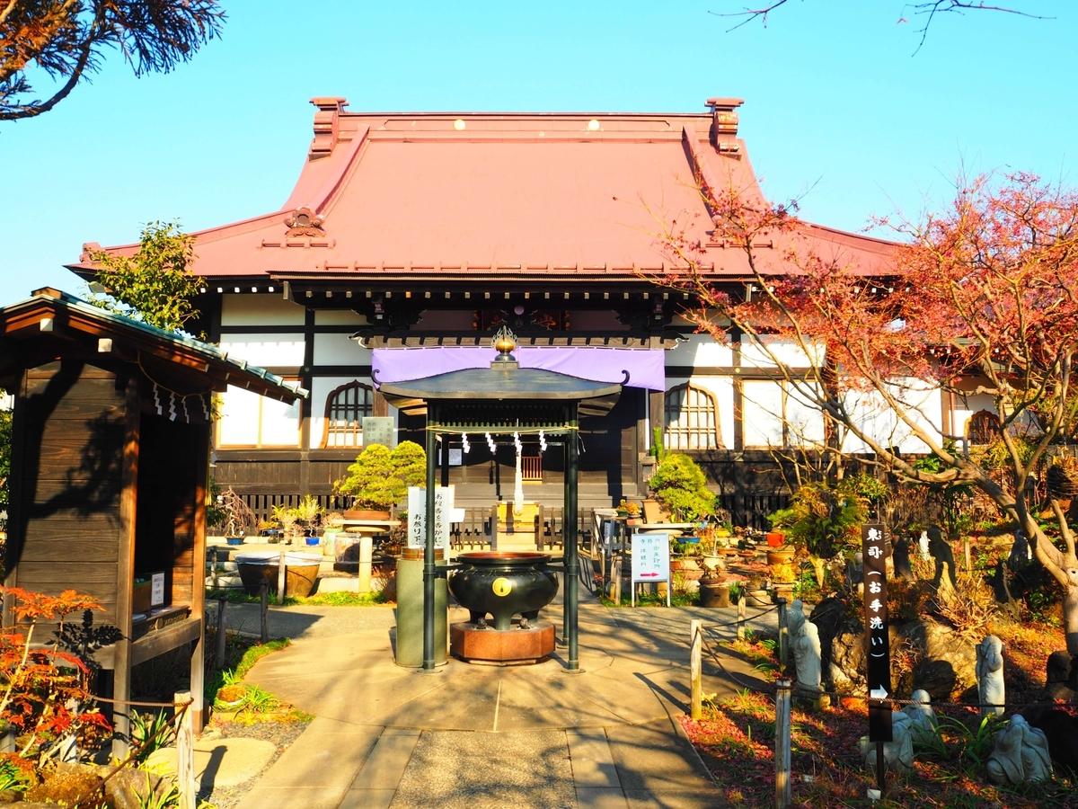 常泉寺の本堂