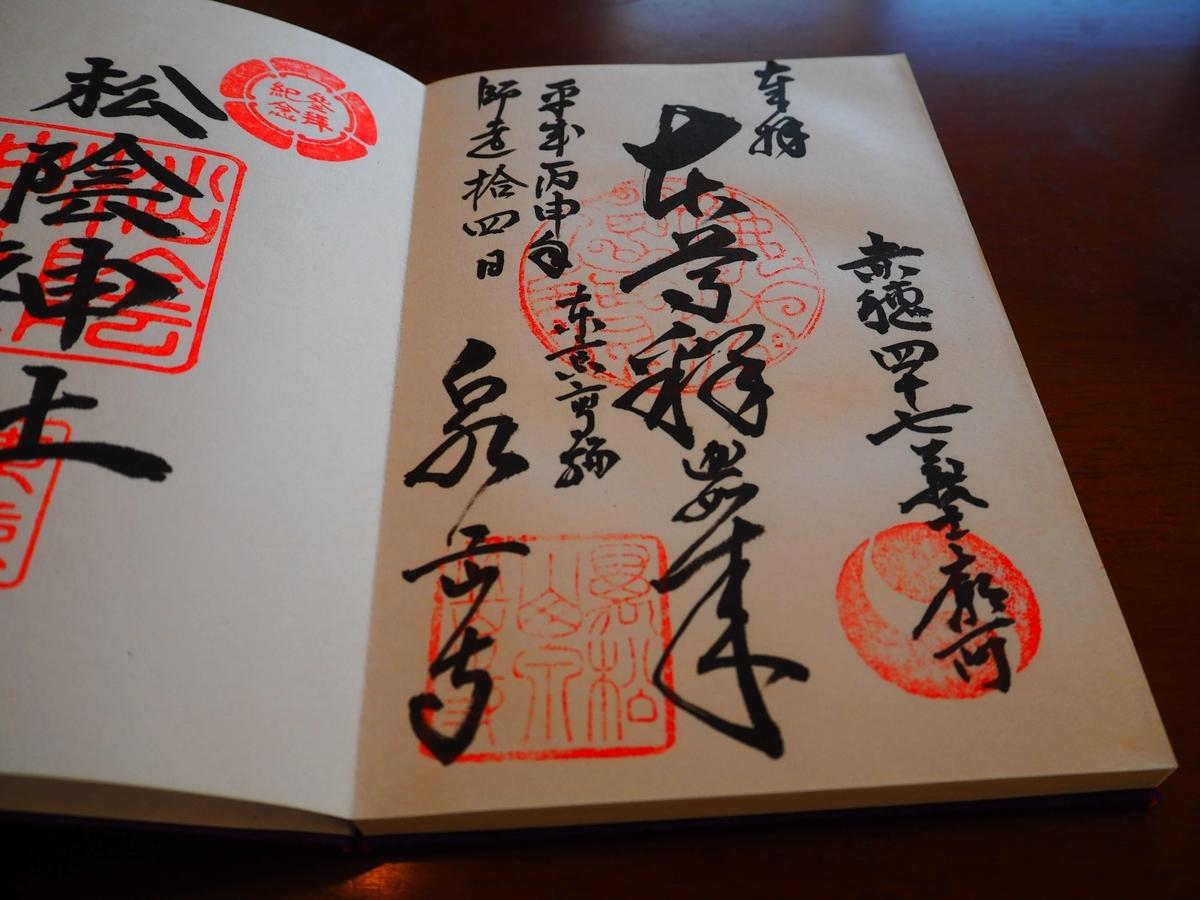 泉岳寺の平成28年12月14日付御朱印