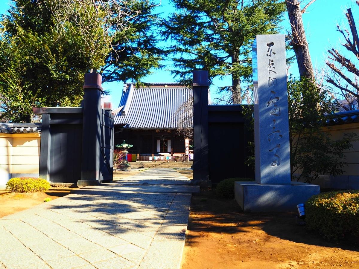 現在の寛永寺の山門