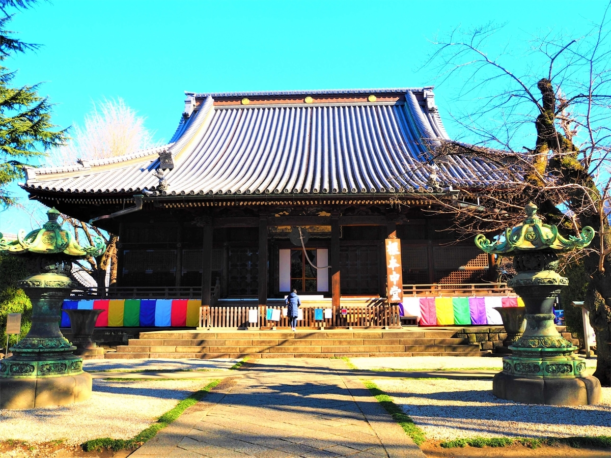 寛永寺の根本中堂