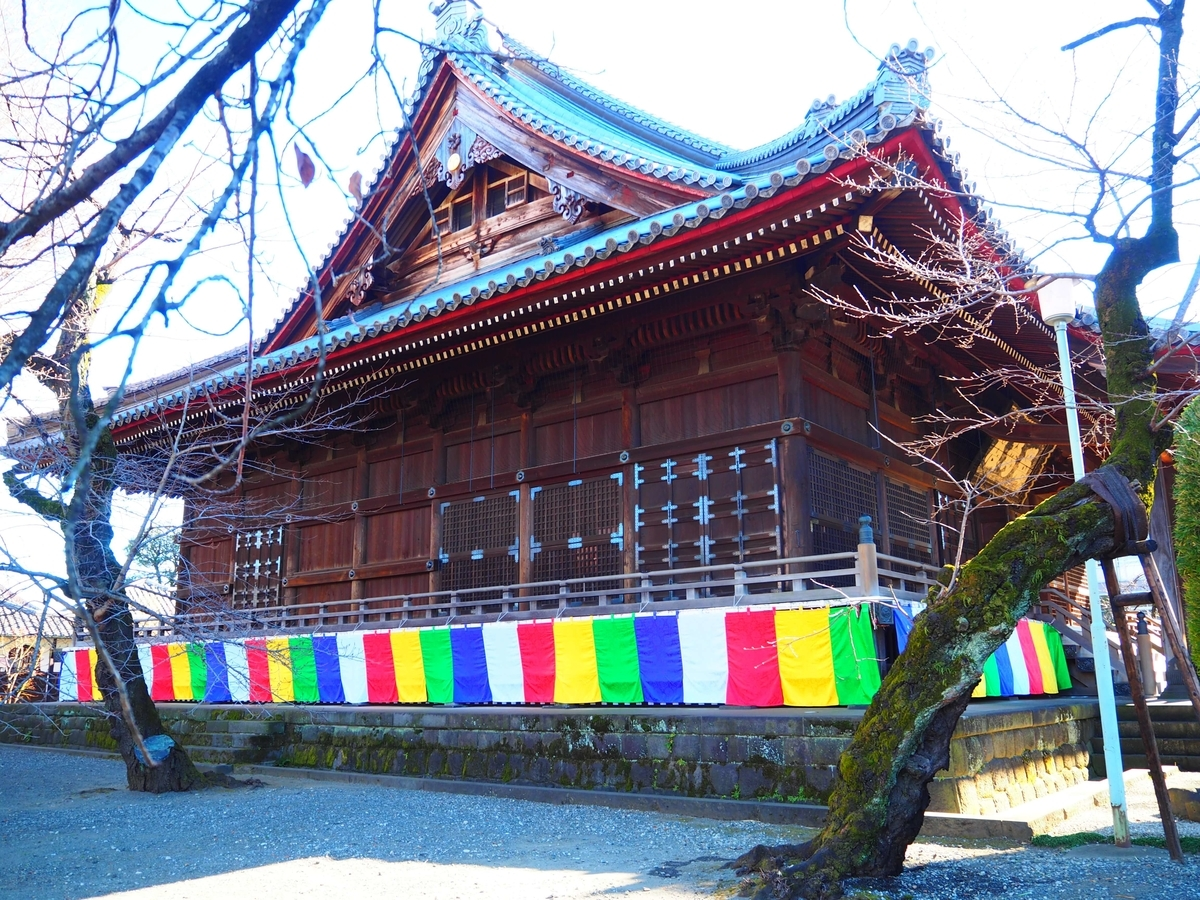 寛永寺根本中堂の側面