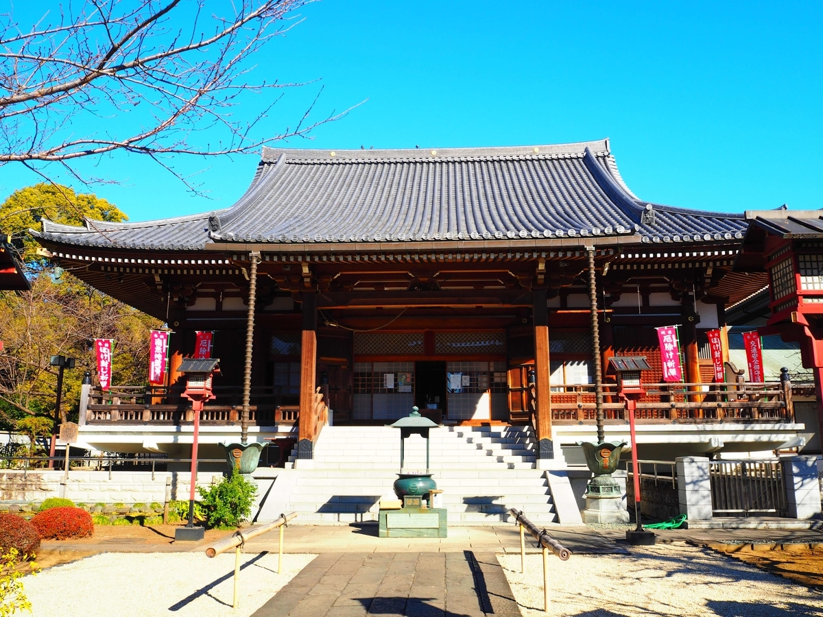 寛永寺開山堂の本堂