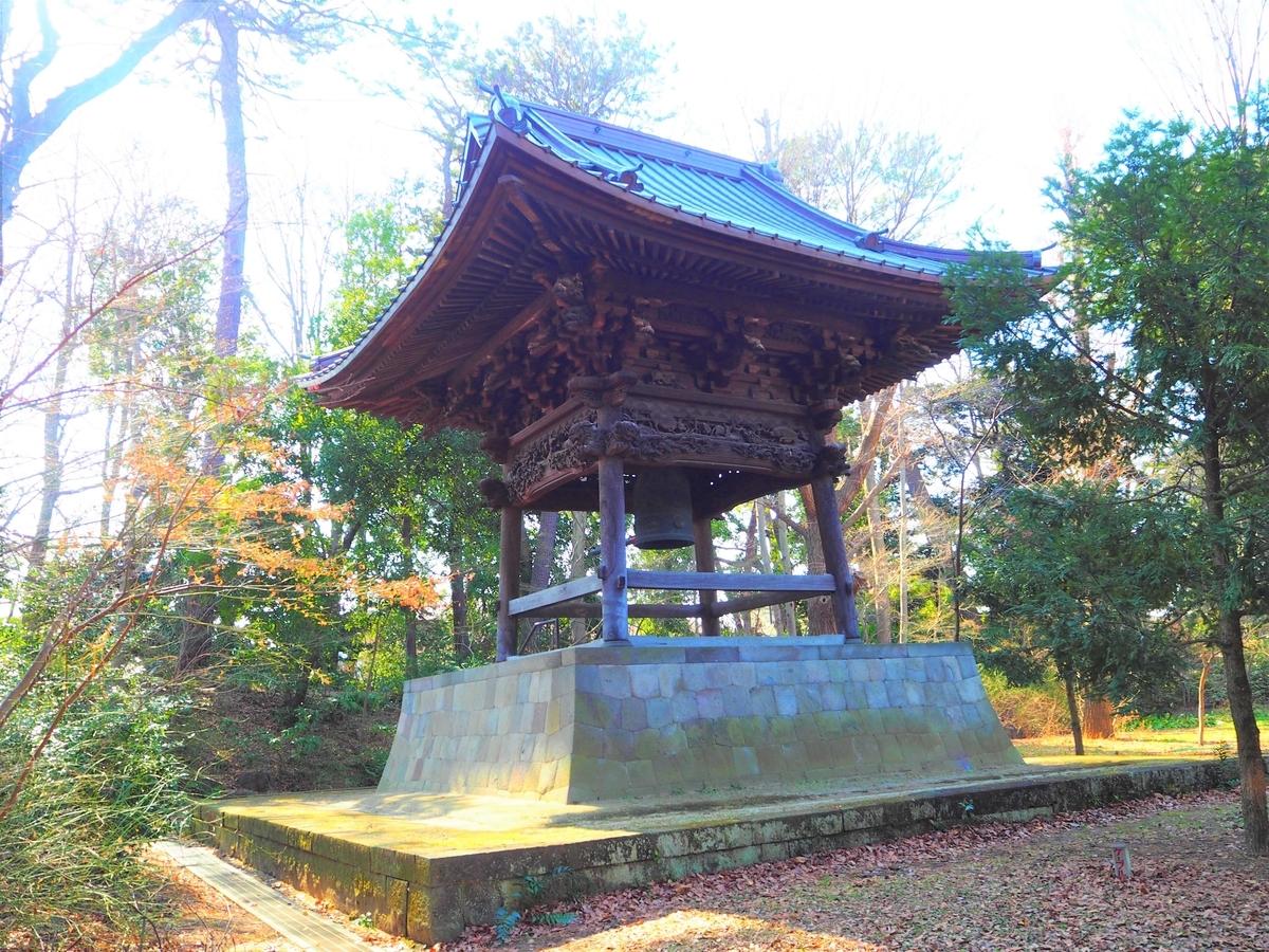 九品仏浄真寺の鐘楼