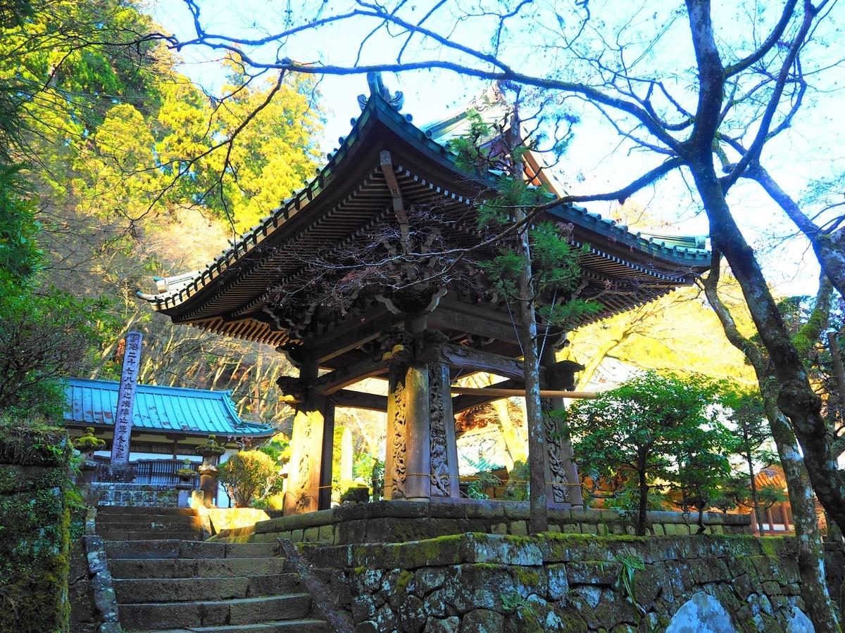 大雄山最乗寺の鐘楼堂