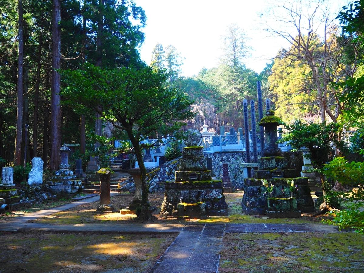 大雄山最乗寺の霊園