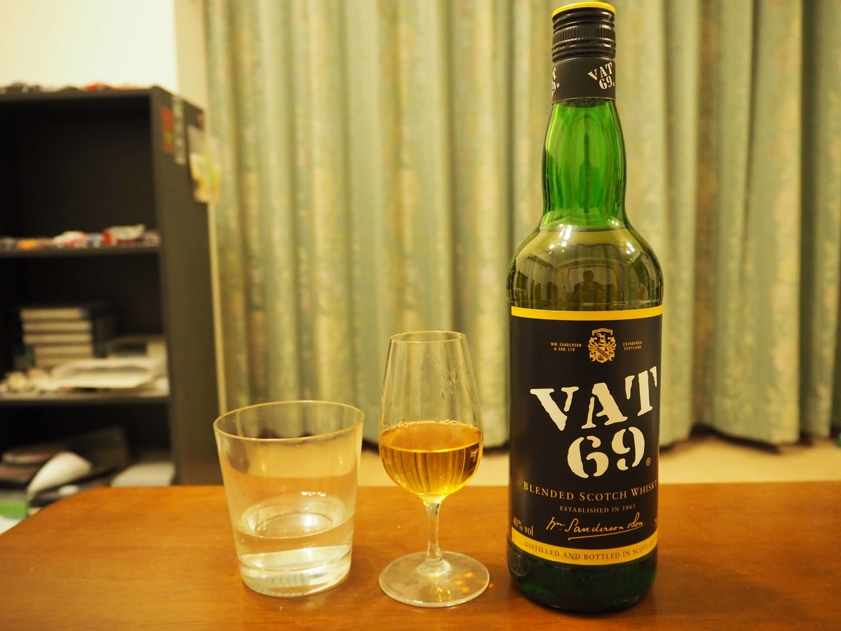 VAT69のストレート