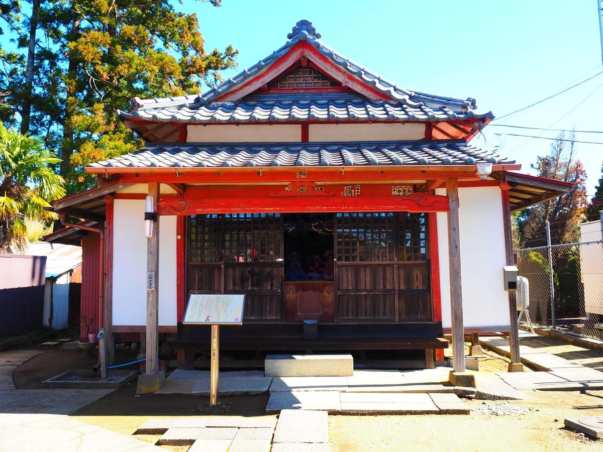 長福寿寺の人形供養堂