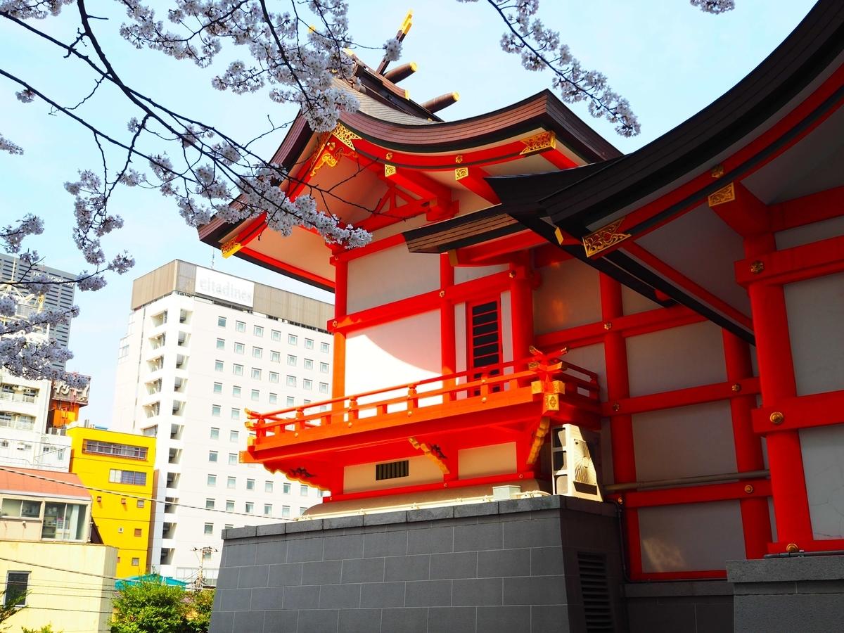 花園神社の本殿