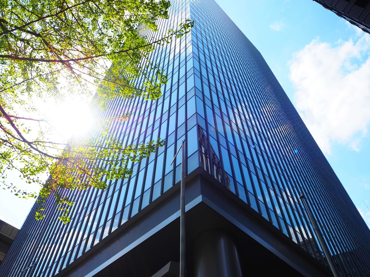 超高層ビルである虎ノ門琴平タワー